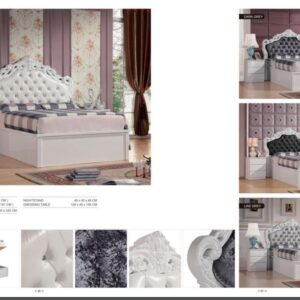 FRENCH CHESTERFIELD BED