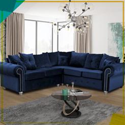 Ashwin Plush Velvet Sofa